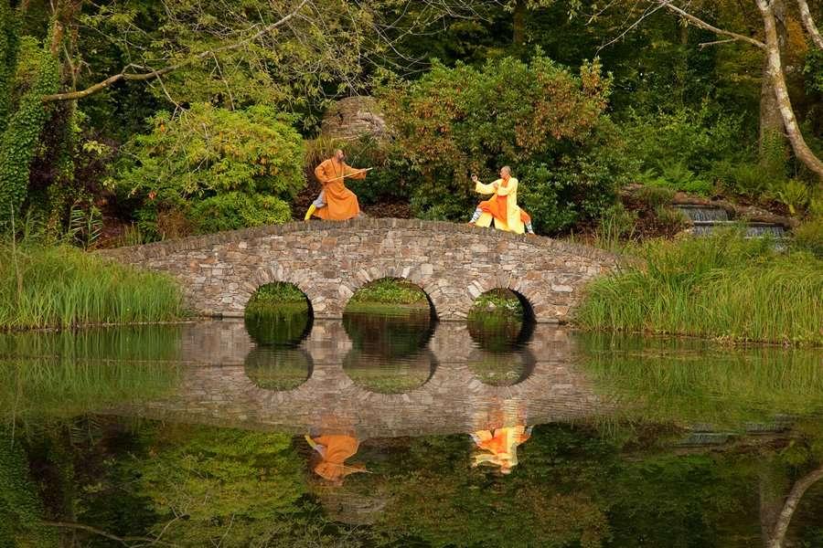 Shaolin Masters at Monart Spa; Blog